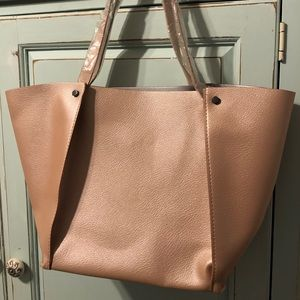Neiman Marcus Tote Rose Gold, New & Beautiful